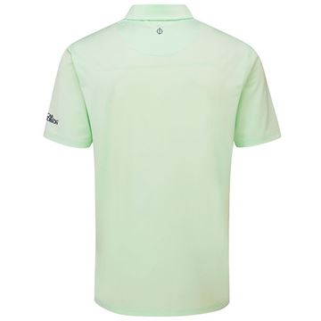 Oscar Jacobson Chap Tour Polo Mint, Golf Clothing Polos