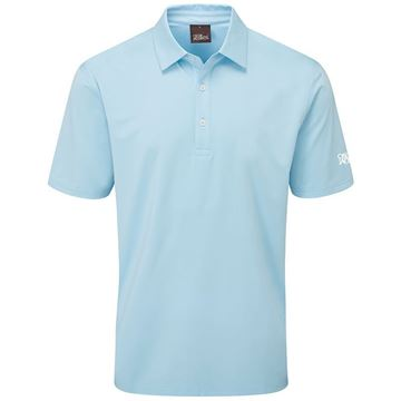 Oscar Jacobson Chap Tour Polo Sky, Golf Tops polo