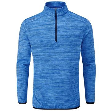 Ping Collection Edison 1/4 Zip Sweater - Blue, Golf Clothing Sweaters
