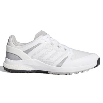 Adidas EQT Spikeless Golf Shoes - White/Grey FX6631, Golf Shoes Mens