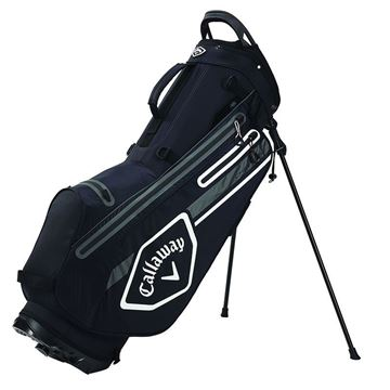 Callaway Chev Dry Stand Bag 2021 - Black/Charcoal/White
