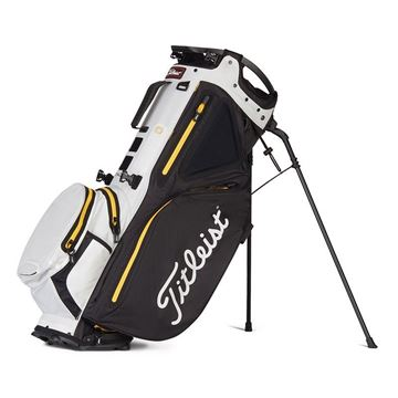 Titleist Hybrid 14 Carry Bag - Black/White/Canary