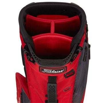 Titleist Players 4 Stand Bag - Red/Graphite