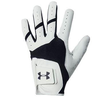 Under Armour ISO-Chill White/Black Glove For the Right Handed Golfer