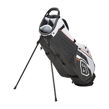 Callaway Chev Dry Stand Bag 2021 - Charcoal/White/Orange