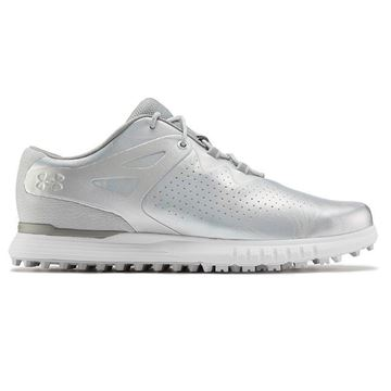 Under Armour W Charged Breathe SL - White/Silver - 3023733, Golf Shoes Ladies