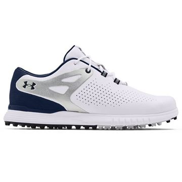 Under Armour W Charged Breathe SL - White/Academy - 3023733, Golf Shoes Ladies