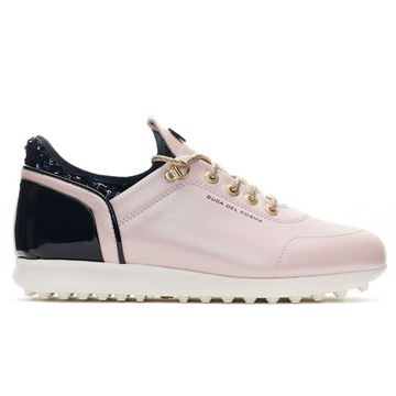 Duca Pose Ladies Golf Shoes - Pink/Navy, Golf Shoes Ladies