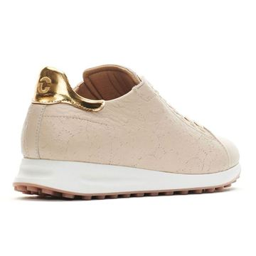 Duca Atlantis Ladies Golf Shoes - Crema, Golf Shoes Ladies
