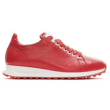 Duca Atlantis Ladies Golf Shoes - Red, Golf Shoes Ladies