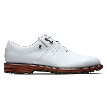 Footjoy Flint Southern Living Limited Edition Golf Shoes - 53977 White, Golf Shoes Mens
