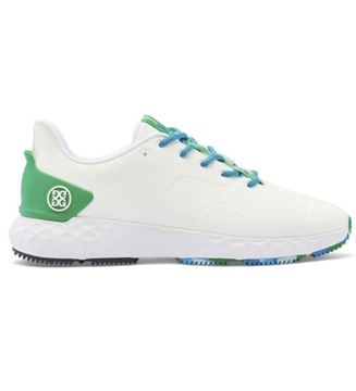G Fore MG4+ Limited Edition Golf Shoes - White/Green G4MS21EF26L2, Golf Shoes Mens