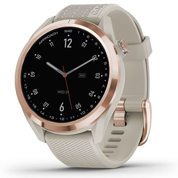 Picture of Garmin Approach S42 Watch -Gold/Sand