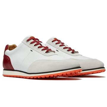 Royal Albatross The Driver Golf Shoes - Red, Golf Shoes Mens